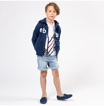 Mauritz - Denim shorts for children