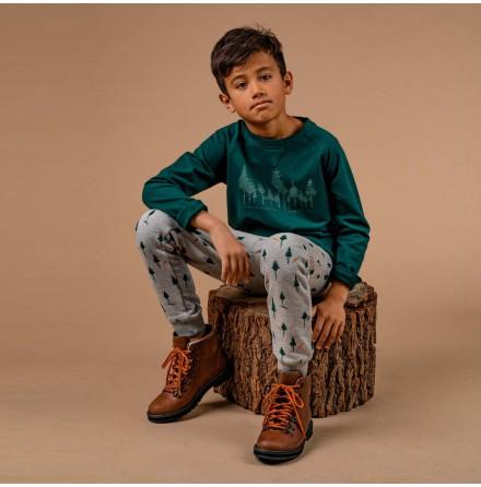 Garland - Green sweatshirt for children