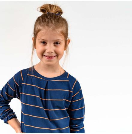 Amber - Striped dress for children