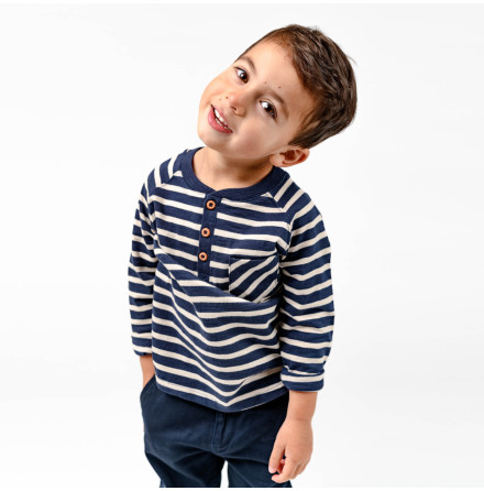 Milton - Striped top for children