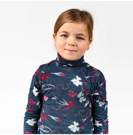 Sanja - Printed turtleneck for children