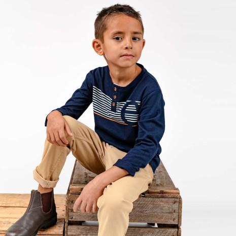 Ike - Long sleeved t-shirt for children