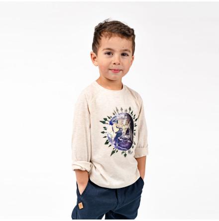 Ivo - Long sleeved t-shirt for children