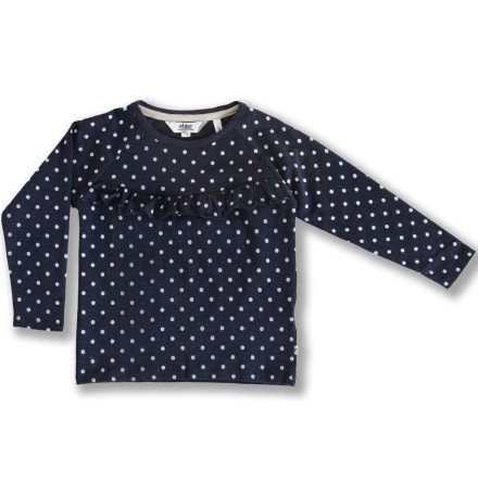 Ivy - Dotted raglan top for children