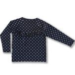 Ivy - Dotted raglan top for children
