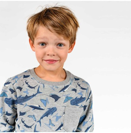 Berry - Printed sweater for children