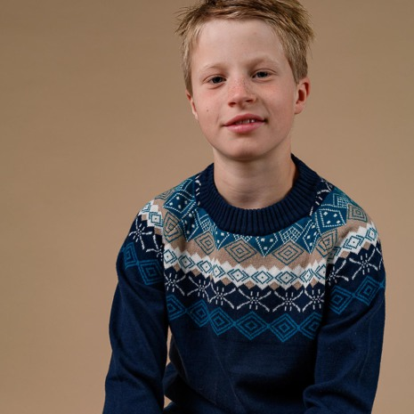 Marius - Knitted sweater for children