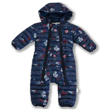 Damon - Printed quilted baby suit