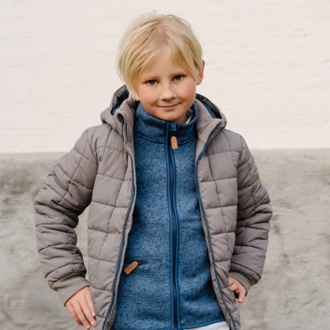 Dane - Quilted winter jacket for children