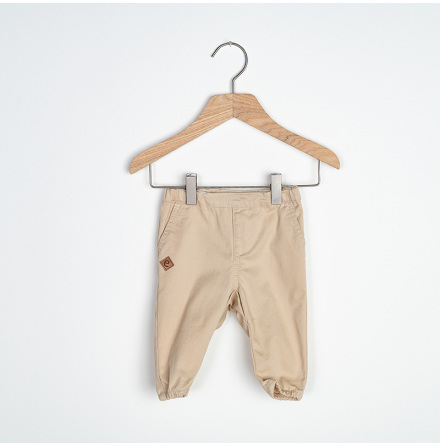 Sammie - Beige chinos pant for baby