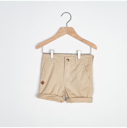 Soda - Beige chinos shorts for children