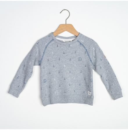 Daniel - Printed sweater for children