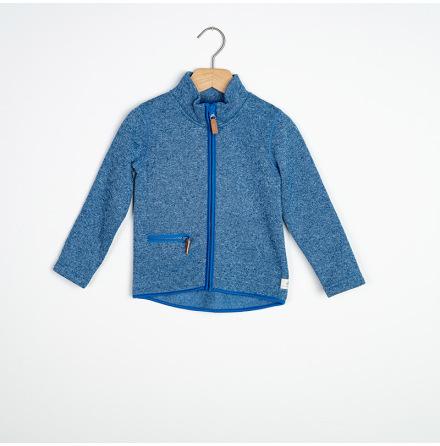 Emile - Blue fleece jacket for children
