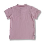 Harper - Pink polo shirt for children