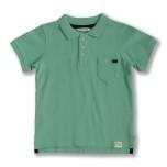Harper - Green polo shirt for children