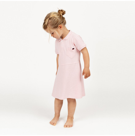 Havanna - Pink pique dress for children