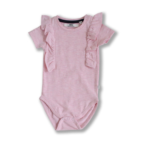 Galvina - Pink bodystocking for baby