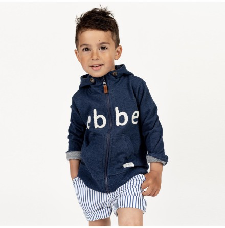 Robinson - Zip jacket with hood for children