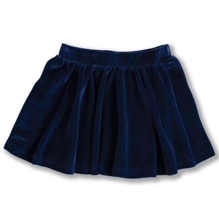 Janelle - Blue velour skirt for children