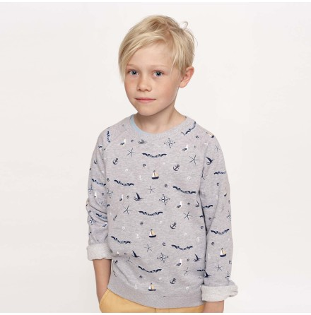 Ramsey - Printed sweatshirt for children