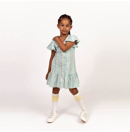 Henrietta - Striped jersey dress for children
