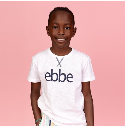 Hendrix - Tee with ebbe logo for children