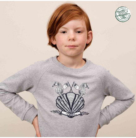 Oswyn Patterned Sweatshirt