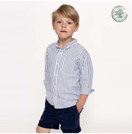 Gerard - Striped shirt for children