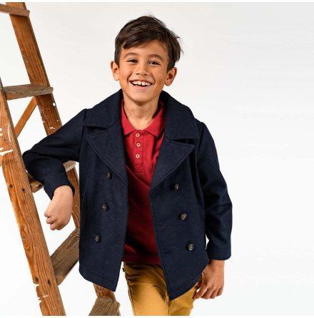 Dante - Classic pea coat for children