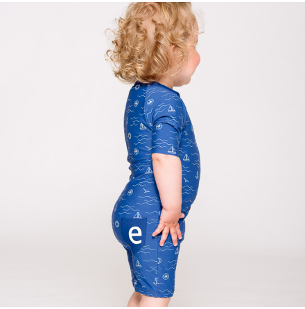 August - Beachsuit for children, UV-protection (UPF 50+)