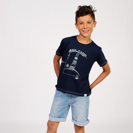 Eddie denim shorts