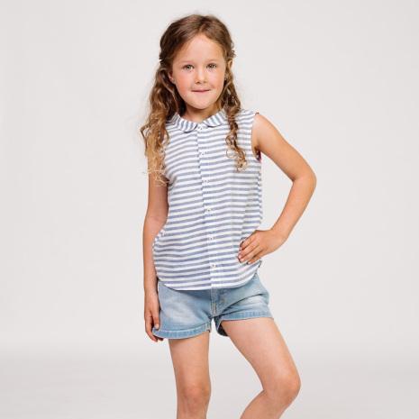 Evita denim shorts